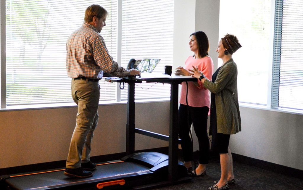 Treadmill Desks U2013 The Office Wellness Solution