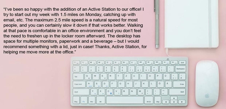 Active Station Testimonial 4
